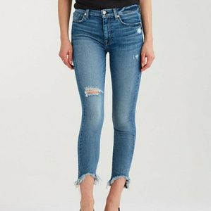 7 For All Mankind Women's High Waist Ankle Jeans